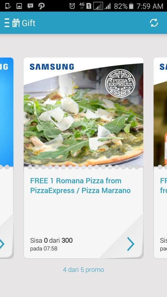 Free Romana Pizza Pizza Express